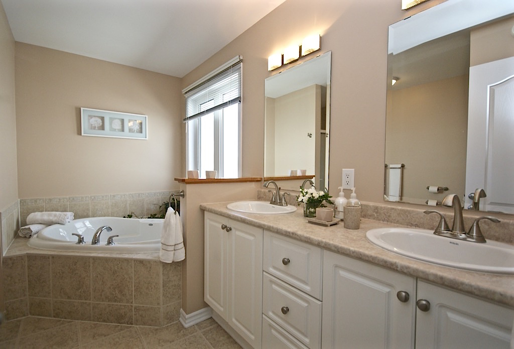 Master Bathroom Staging Step by Step